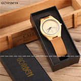 Men's Luxury Bamboo Natural Wooden Watches