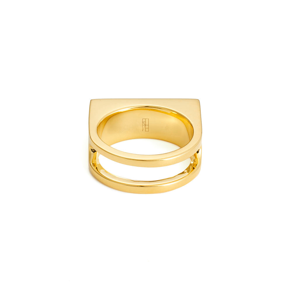 Deck Ring - Yellow Gold