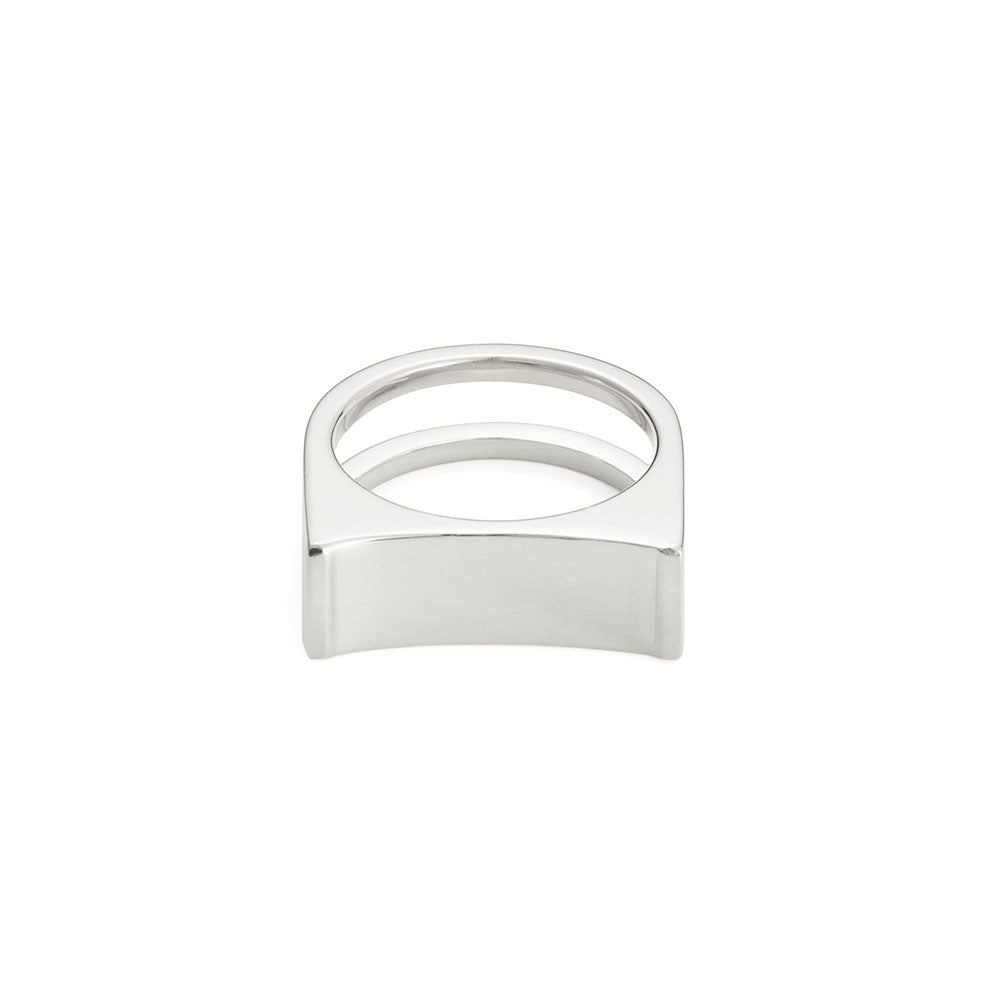 Cable Ring - Silver