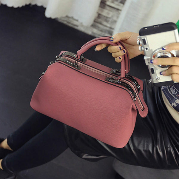 Casual Pink Evening Clutch