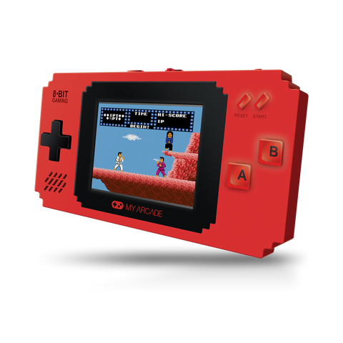 Pixel Player portable retro gaming system