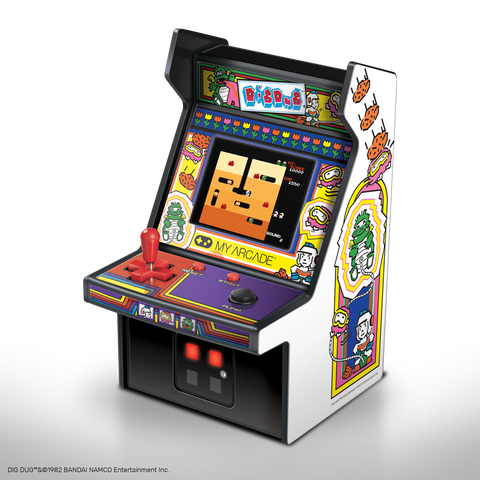 My Arcade  DIG DUG Micro Player Retro Arcade cabinet