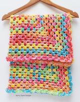 Granny square baby blanket pattern