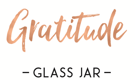 Gratitude Glass Jars