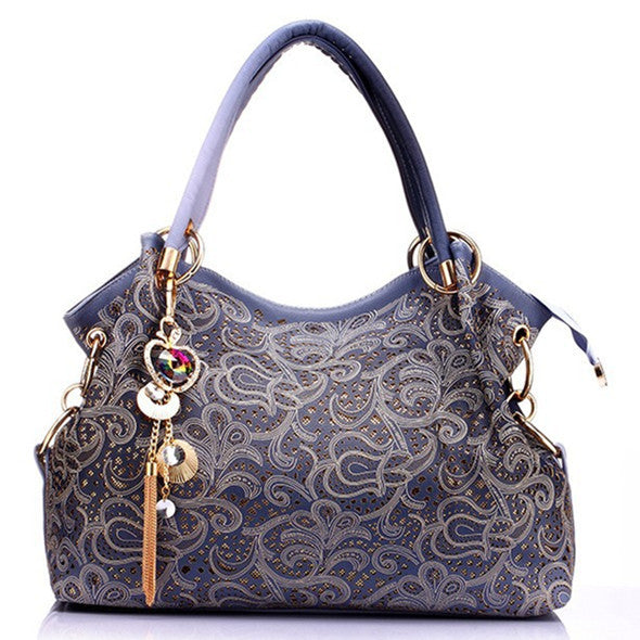 Large Leather Luxury Women Shoulder bags