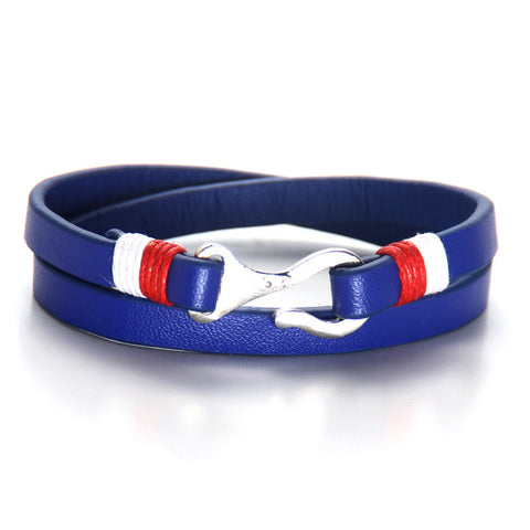 Red White Blue Casual Sporty Style Bracelets