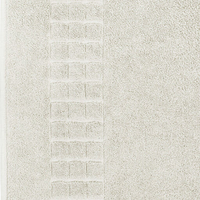 Luxury Egyptian cotton cream bath mat that is soft and absorbent