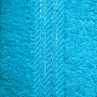 Beautifully designed, our teal towels make your bathroom feel like a spa