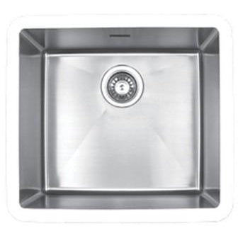 Edge medium single bowl undermount sink