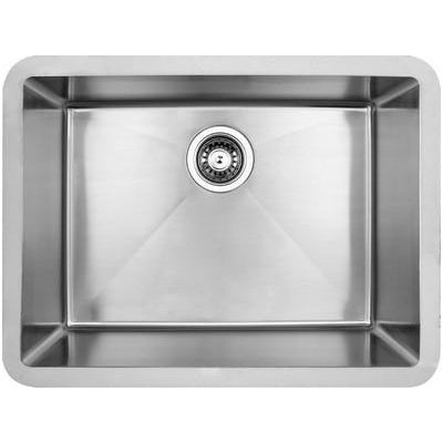 Edge large single bowl undermount sink