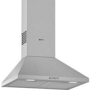 NEFF Pyramid Chimney hood Stainless steel 60 cm wide D62PBC0N0B