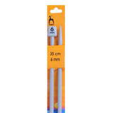 Pony Plastic Single Pointed Knitting Needles 35cm
