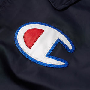 CHAMPION COACH JACKET NAVY