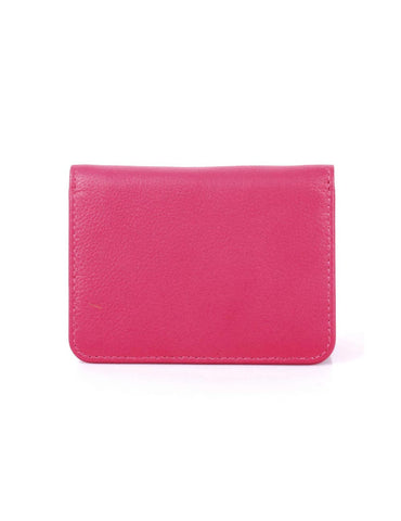 Women's RFID Leather Card Holder Wallet More Colors - karlahanson.com