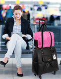 Women's RFID Professional & Travel Trolley Black