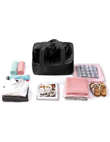 Pack n Fold Foldable Travel Duffel Bag Black - karlahanson.com