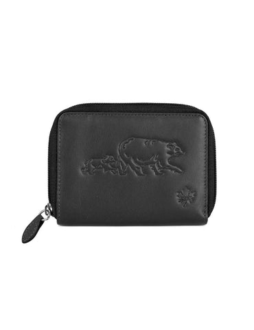 CANADA WILD Women's Leather Wallet Bear and Bub - karlahanson.com