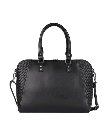 Tanya RFID Blocking Women's Satchel Black - karlahanson.com