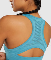 Gymshark Flawless Knit Vest - Teal 12