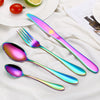 Awesome Rainbow Steel Cutlery Set