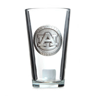 AU Pewter Logo Pint Glass