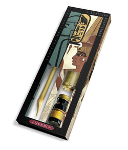 J. Herbin History Of Writing - Egyptian Scribe Writing Set Misc