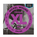 D'Addario EXL156 Strings Designed For Fender Bass VI