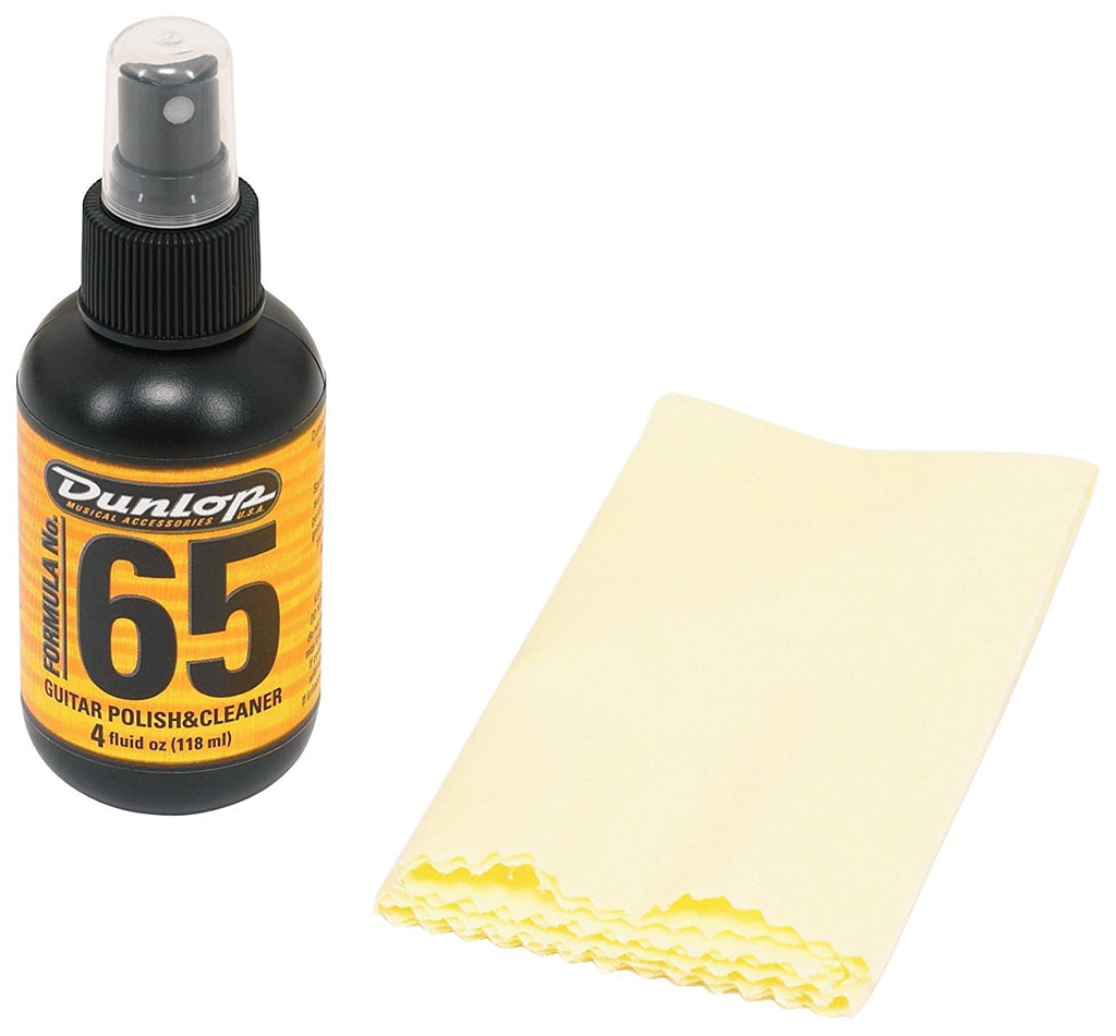 Dunlop Polish and Cleaner Includes Microfiber Cloth