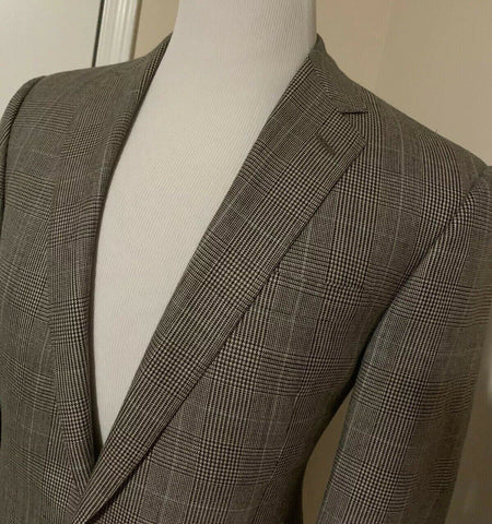 NWT $1895 Ralph Lauren Purple Label Mens Sport Coat Blazer Brown Tan 40R Italy