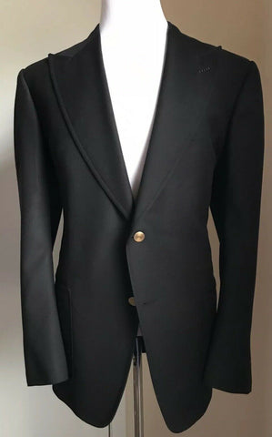 NWT $3440 Tom Ford Men Sport Coat Blazer Black 48R US ( 58R Eu ) Switzerland