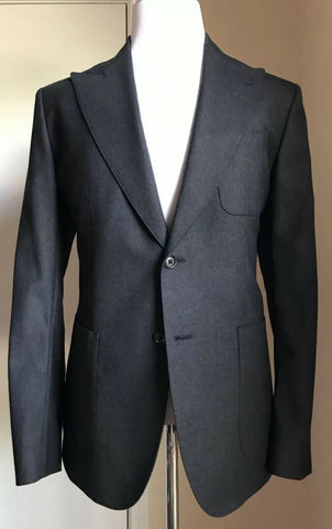 New $1795 Dolce & Gabbana Men Sport Coat Blazer Dark Gray 38R US ( 48R Eur) Ita