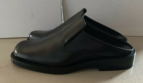 New $655 Balenciage Leather Sandal Shoes Black 8 US ( 41 Eu ) Italy