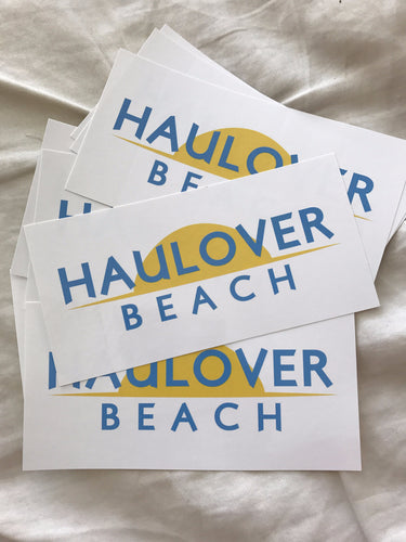 3 Pack of Haulover Beach Bumper Stickers