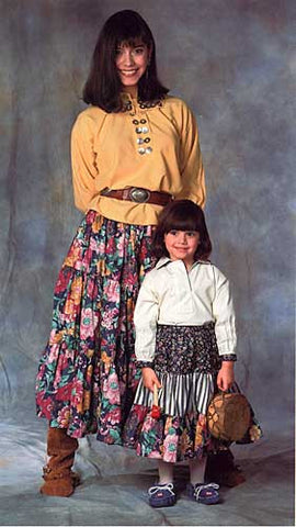 120 Navajo Blouse & Skirt - PDF Version