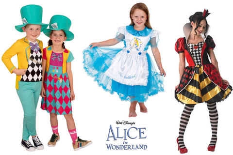 Alice in Wonderland - Best Book Week Costumes for Kids and Teachers | Express Shipping Australia Wide | Salsa and Gigi