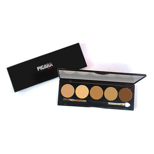 Picara Contour & Highlighting Cream Palette 5 Shade Medium