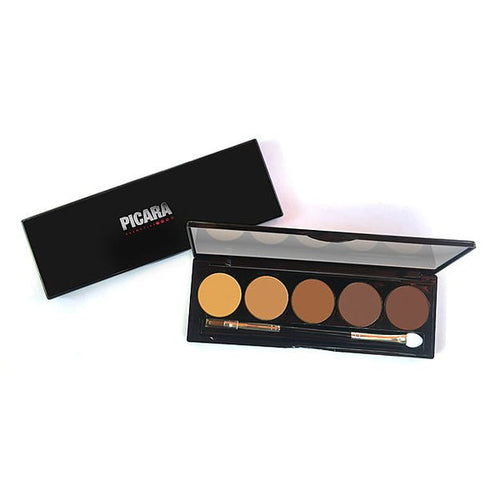 Picara Contour & Highlighting Cream Palette 5 Shade Medium Deep
