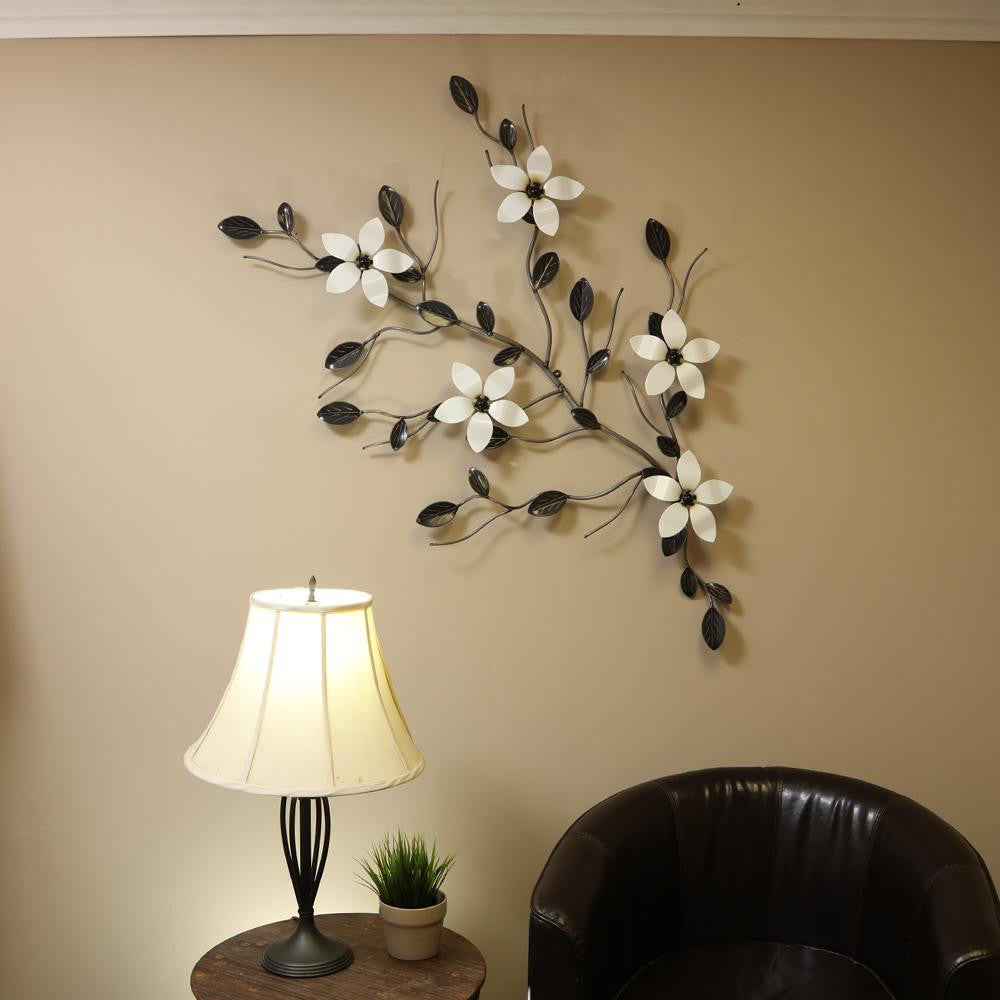 Five Flower Vine: Wall-mounted Ornamental Vines With 5 Flowers