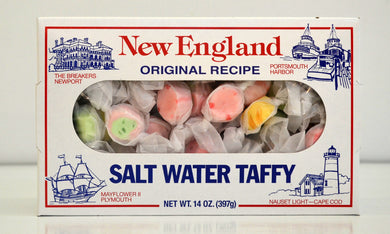 4 Boxes of New England Salt Water Taffy - Assorted Flavors