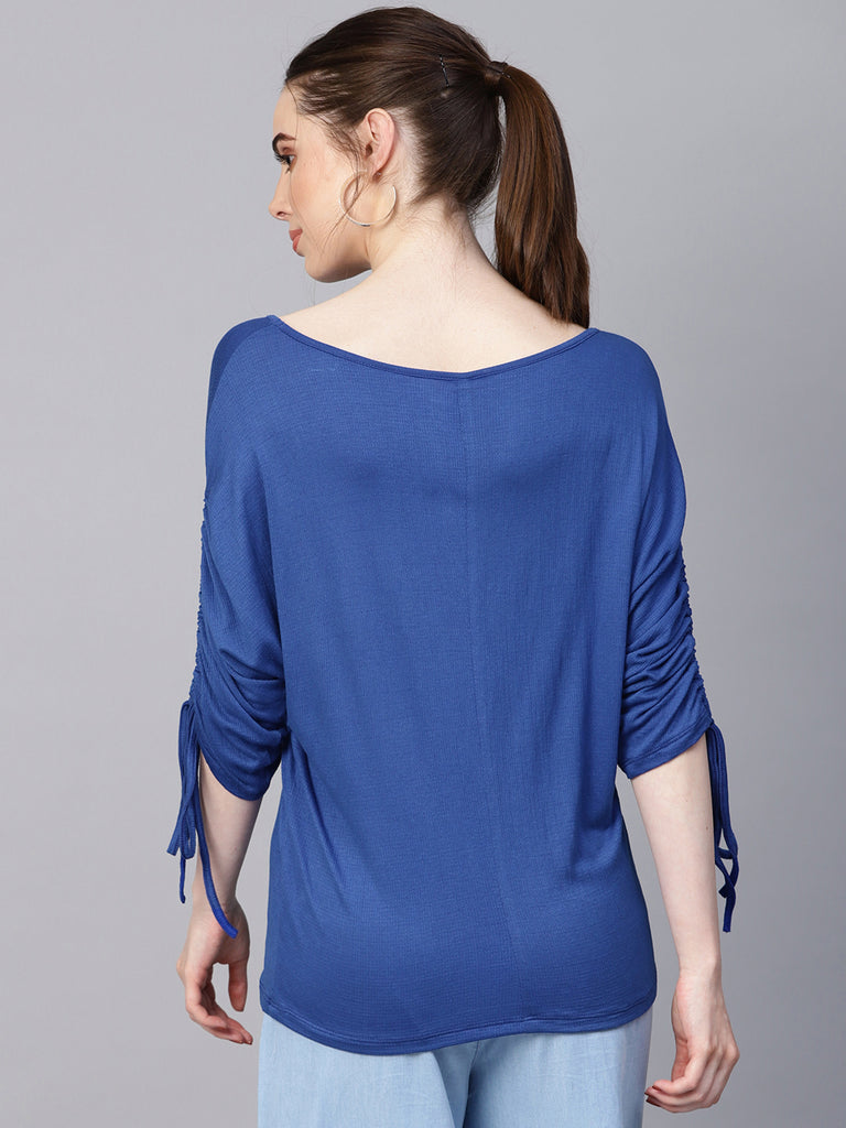 Royal Blue Tunnel SleeveTop