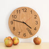 Cider O'clock - Wooden clock for cider drinkers