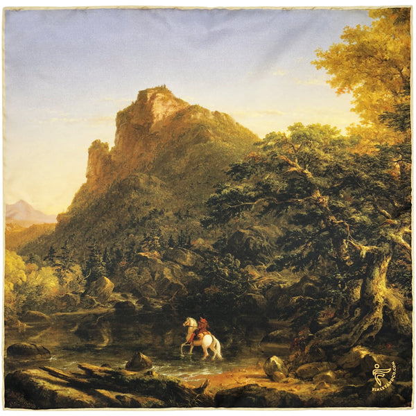 """The Mountain Ford"" by Thomas Cole"