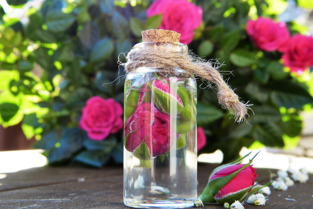 How To Make a DIY Rose Water Setting Spray