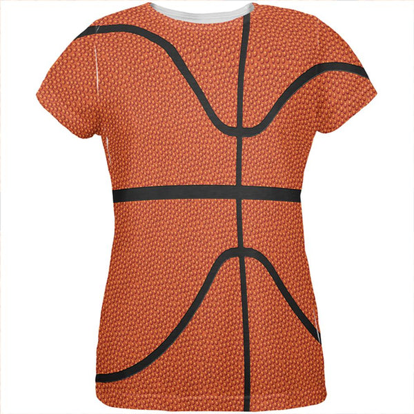 Basketball Costume All Over Womens T Shirt