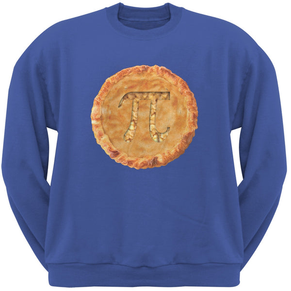 Pi Pie Blue Adult Sweatshirt