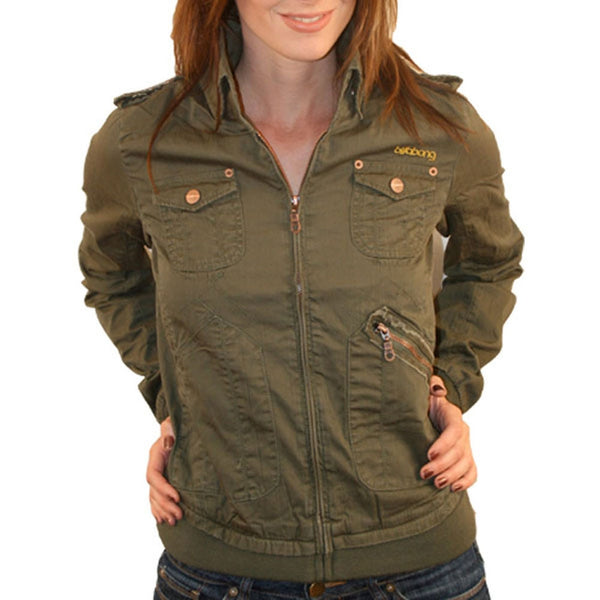 Billabong - Hannah Olive Juniors Jacket