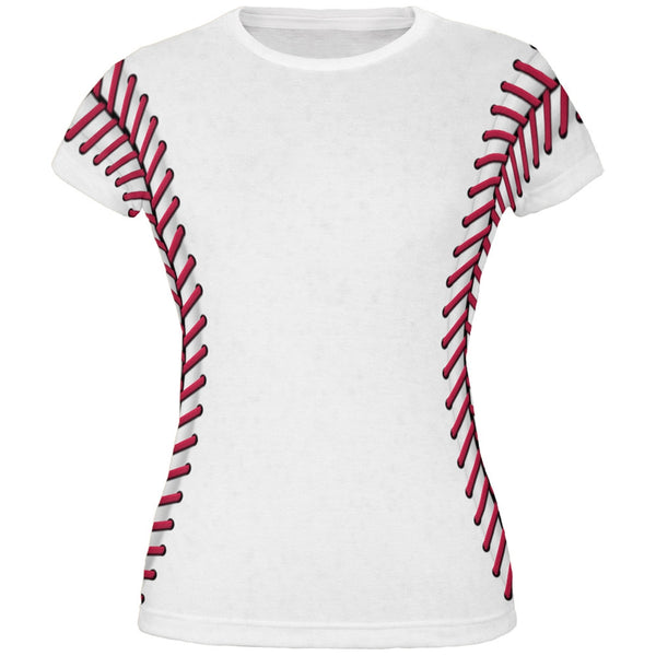 Baseball Costume All Over Juniors T-Shirt