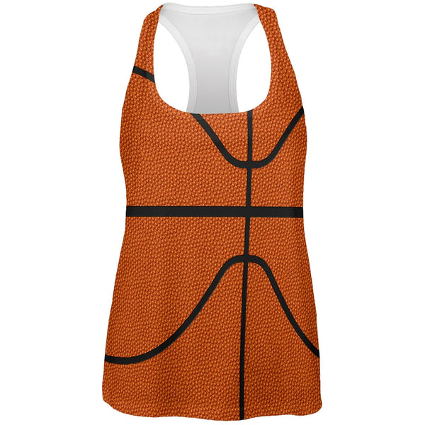 Basketball Costume All Over Womens Work Out Tank Top