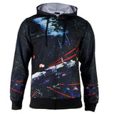 Star Wars - Space Battles-1 Sublimated Costume Adult Zip Hoodie