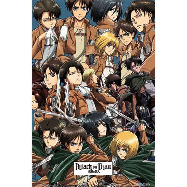 Attack on Titan - Collage 22x34 Standard Wall Art Poster